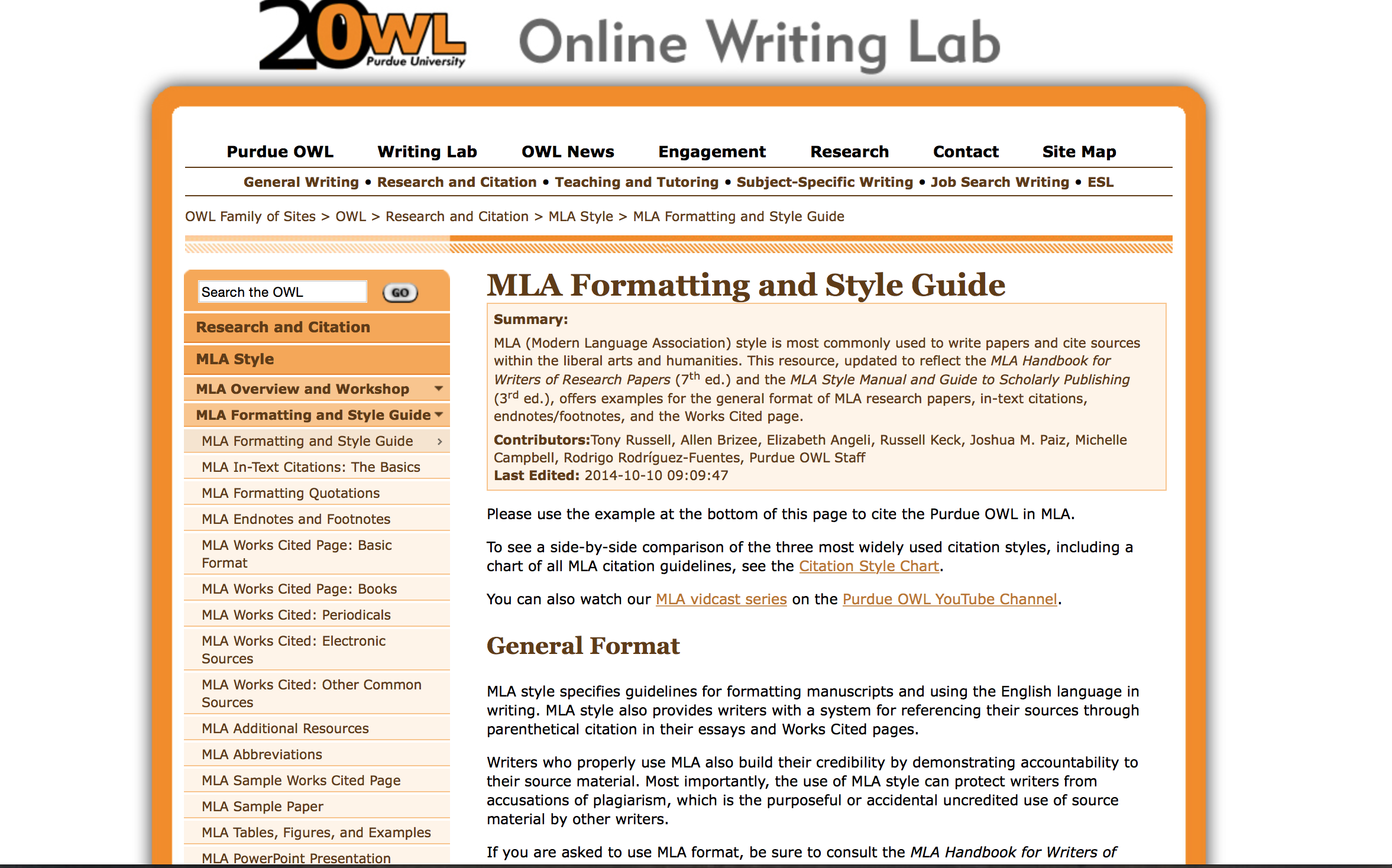 citing a research paper mla format Citing sources: mla  mla january 2017 formatting a research paper  if your instructor has specific requirements for the format of your research paper,.