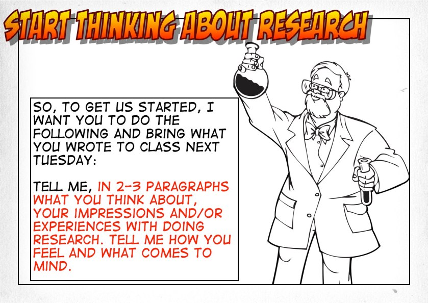 Thinking About Research Prompt
