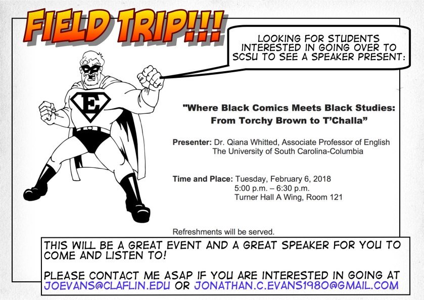 Field Trip to SCSU, Feb. 6