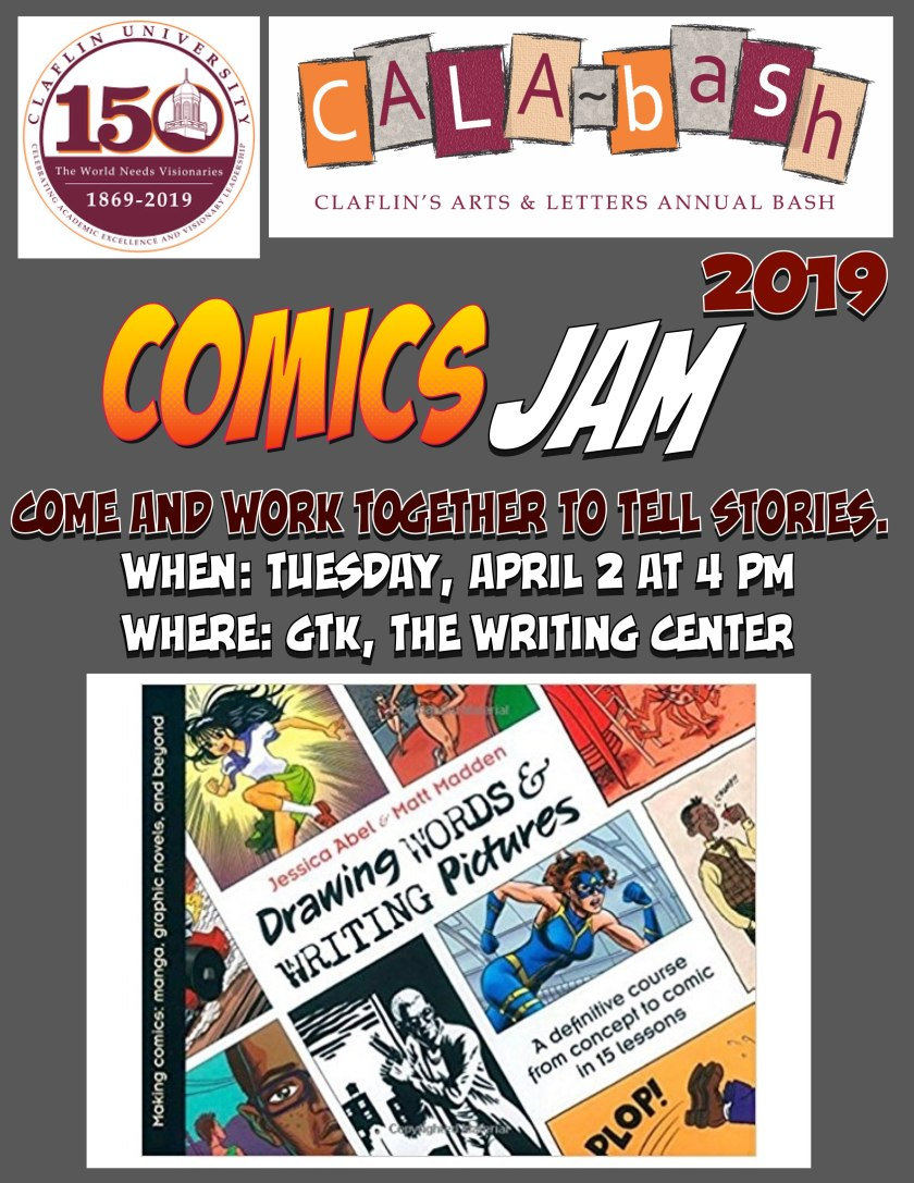 Comics Jam Flyer